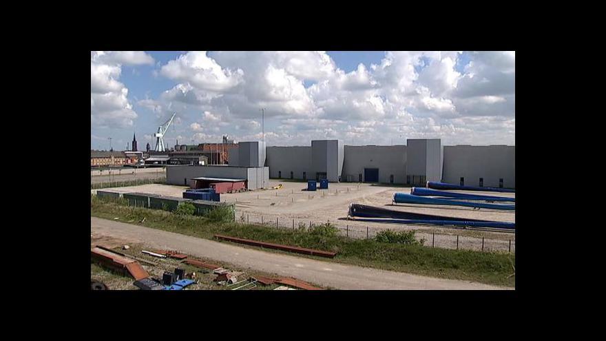 Video Průmyslové zóny tématem Ekonomiky ČT24