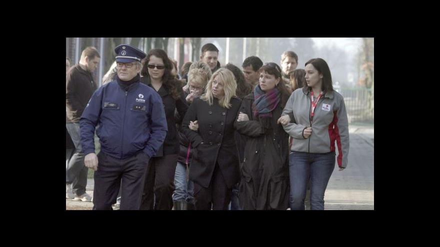 Video Belgie držela smutek