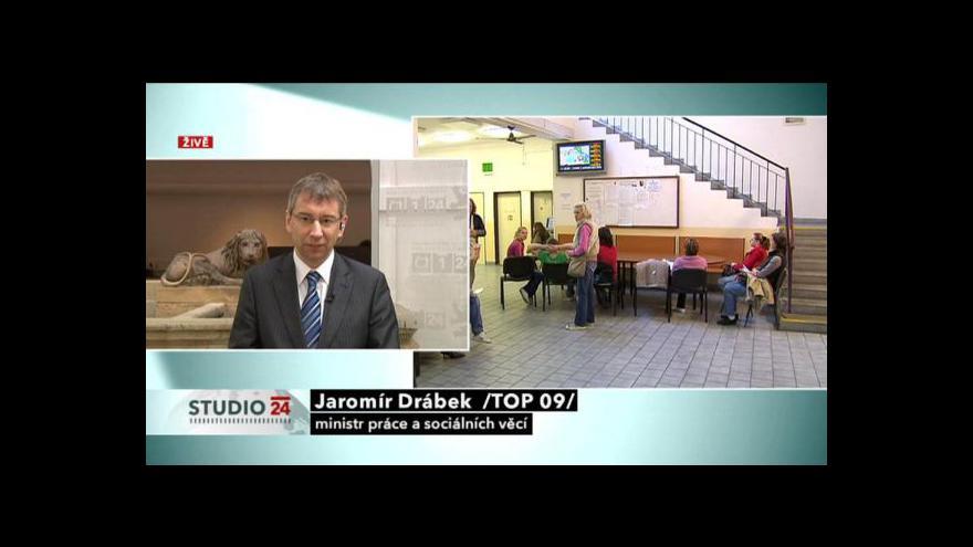 Video Jaromír Drábek hostem Studia ČT24