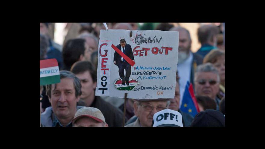 Video Maďarsko čekají demonstrace