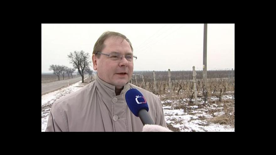Video Hovoří předseda Svazu vinařů Jiří Sedlo