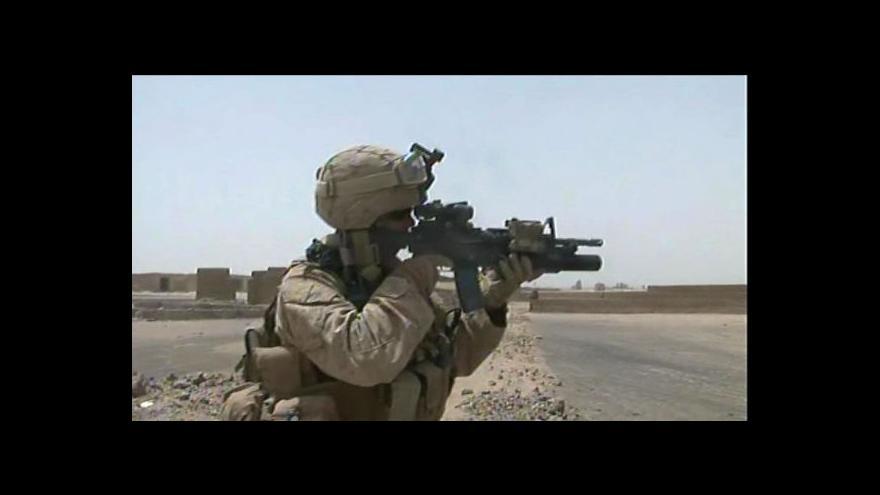 Video Taliban se s USA opět nebaví