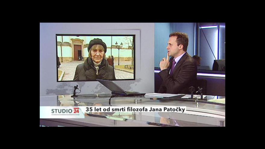 Video Rozhovor s bývalou mluvčí Charty 77 Danou Němcovou