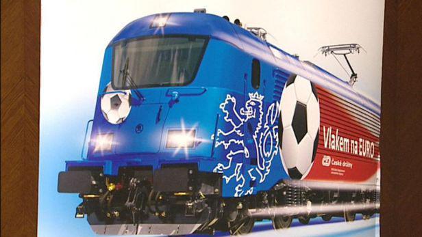 Video Dráhy vypraví na Euro speciální vlaky