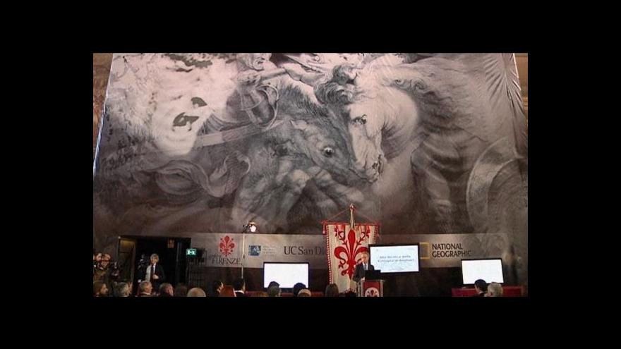 Video Nález ztracené fresky Leonarda da Vinciho