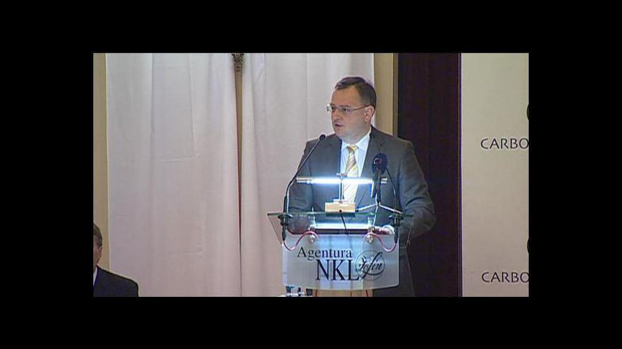 Video Projev Petra Nečase na Žofínském fóru