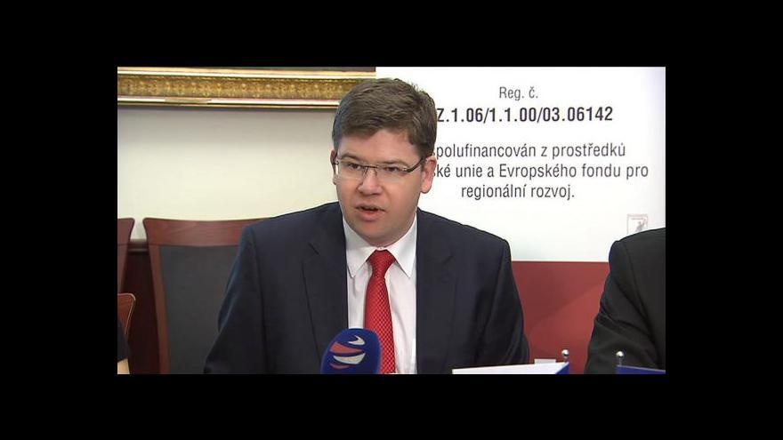 Video TK Jiřího Pospíšila o nové aplikaci obchodního rejstříku