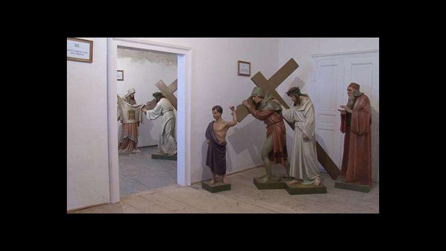 Video Opravené sochy se vrátí na křížovou cestu v Bohuticích