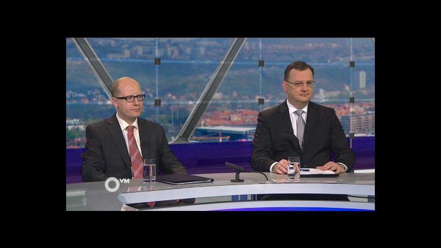 Video Sobotka, Nečas, Fico a Dzurinda v OVM