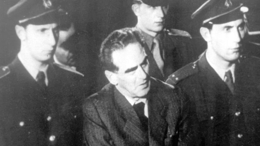 Video Záběry z procesu s Rudolfem Slánským (1952)