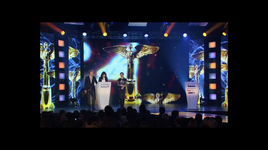 Video Akademie populární hudby rozhodne o cenách Anděl 2011