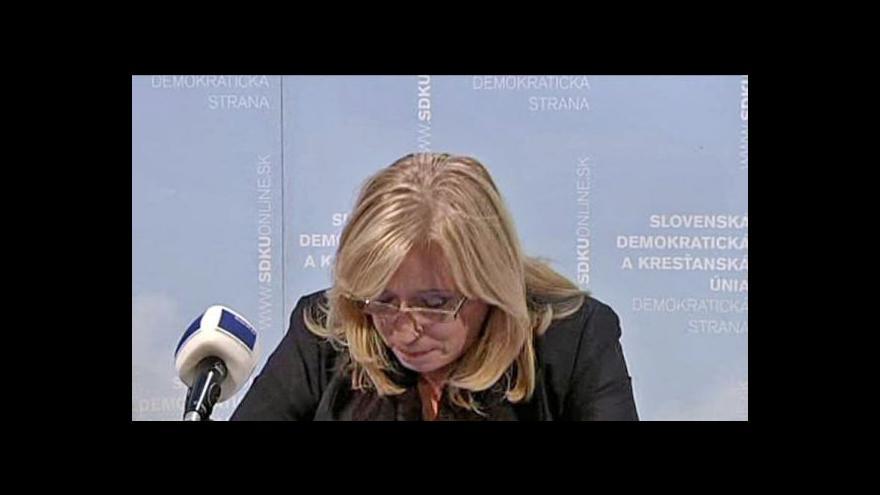 Video Telefonát Olgy Bakové a reportáž