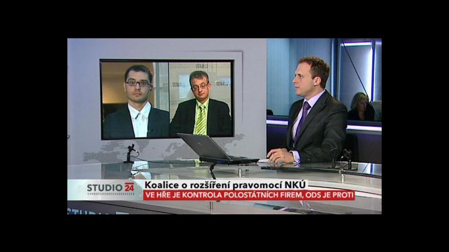 Video Studio ČT24 s Markem Bendou a Stanislavem Polčákem