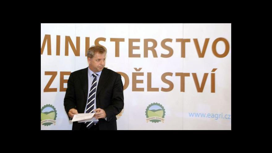 Video Brífink ministerstva zemědělství o polské soli