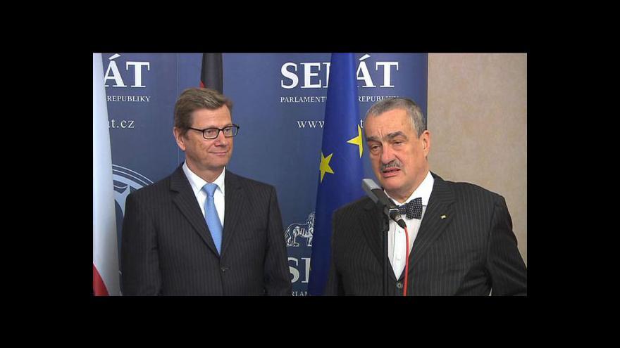 Video Oslavy výročí 20 let od podpisu česko-německé spolupráce v Senátu