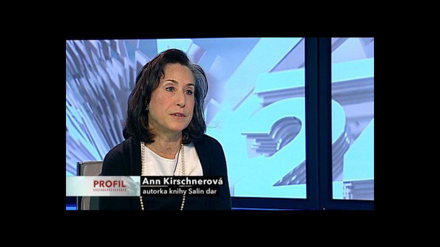 Video Rozhovor se spisovatelkou Ann Kirschner