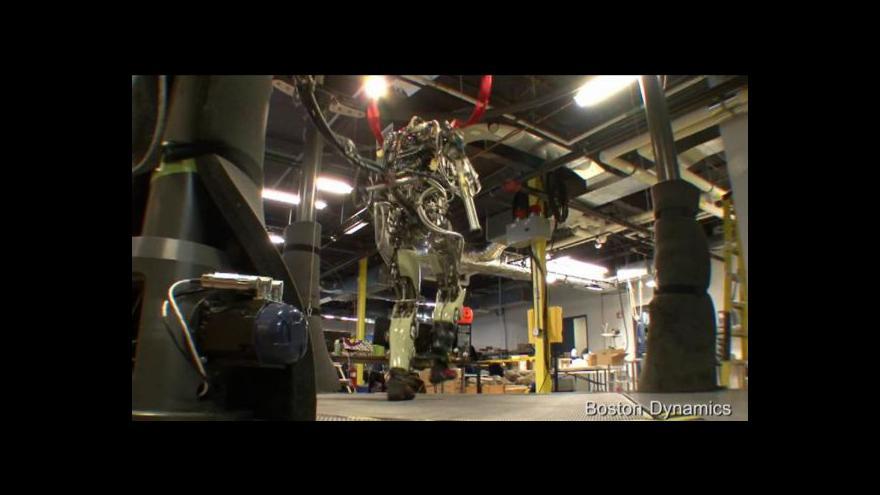 Video Robot Cheetah překonal dosavadní rychlostní rekord