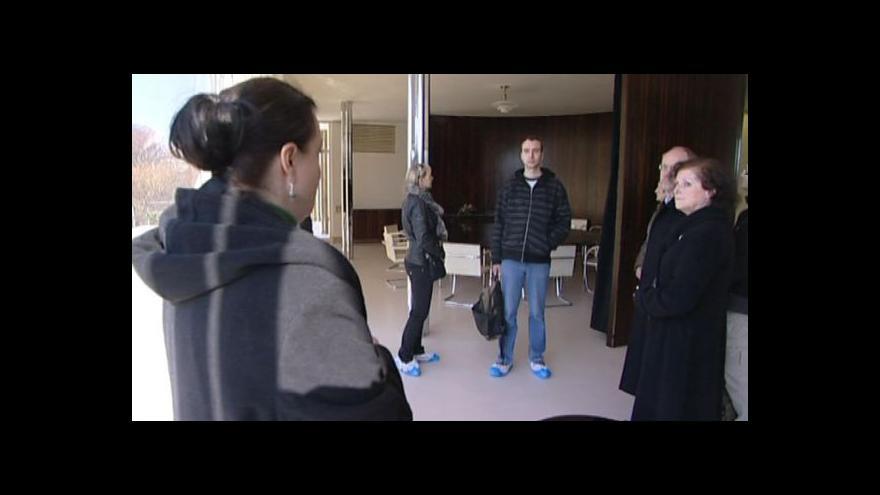 Video Do vily Tugendhat zavítali první návštěvníci po rekonstrukci
