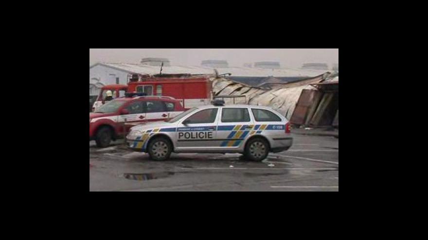 Video NO COMMENT: Následky požáru tržnice v Olomoucké ulici v Brně