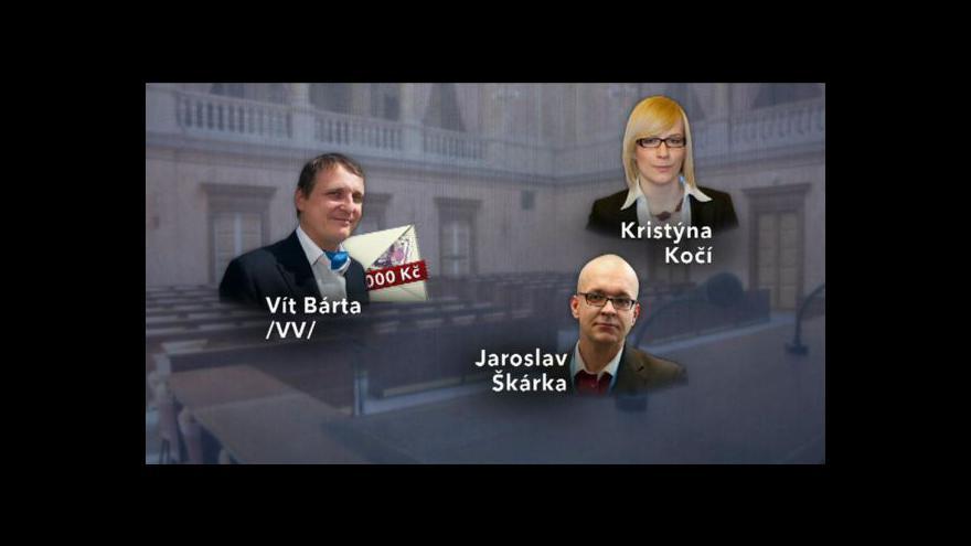 Video Obálková aféra VV před soudem