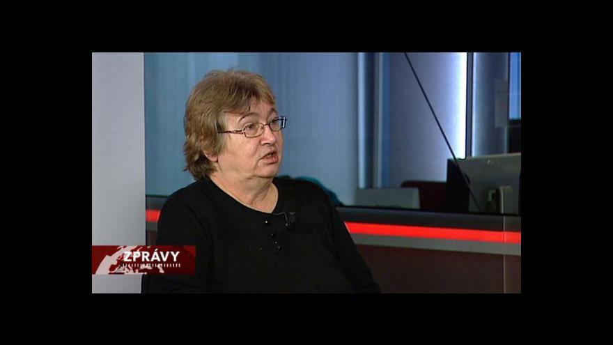 Video Rozhovor s Petruškou Šustrovou