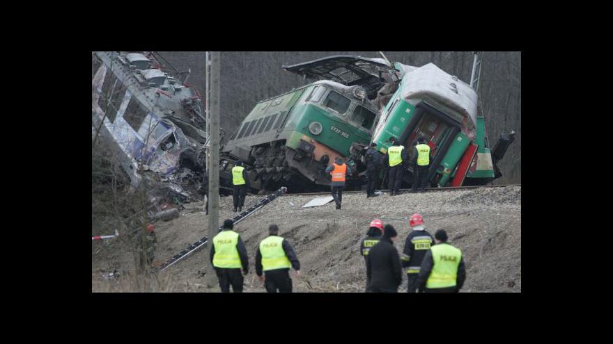 Video Srážka vlaků v Polsku