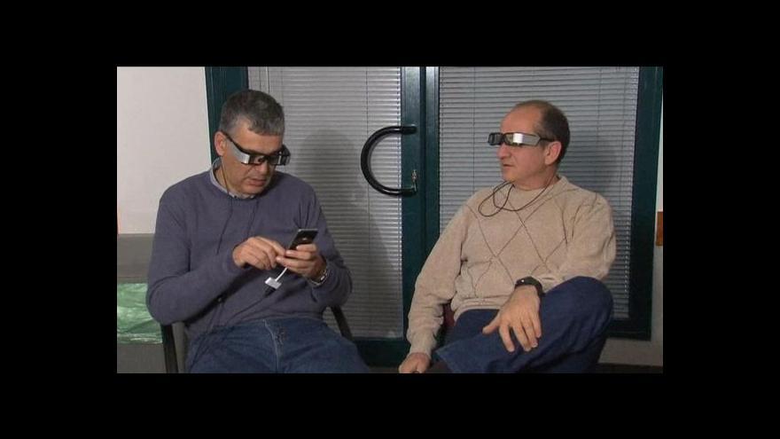 Video Izraelští vývojáři uvedou do prodeje brýle s internetem