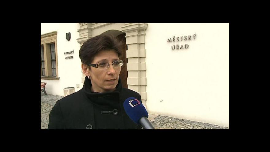 Video Hovoří starostka Uherského Ostrohu Hana Příleská (ČSSD)