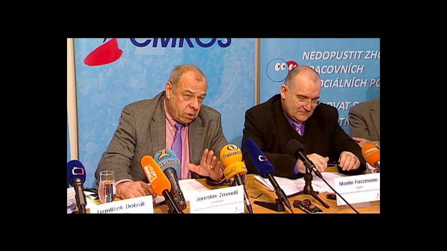 Video TK ČMKOS o dopadech vládních škrtů