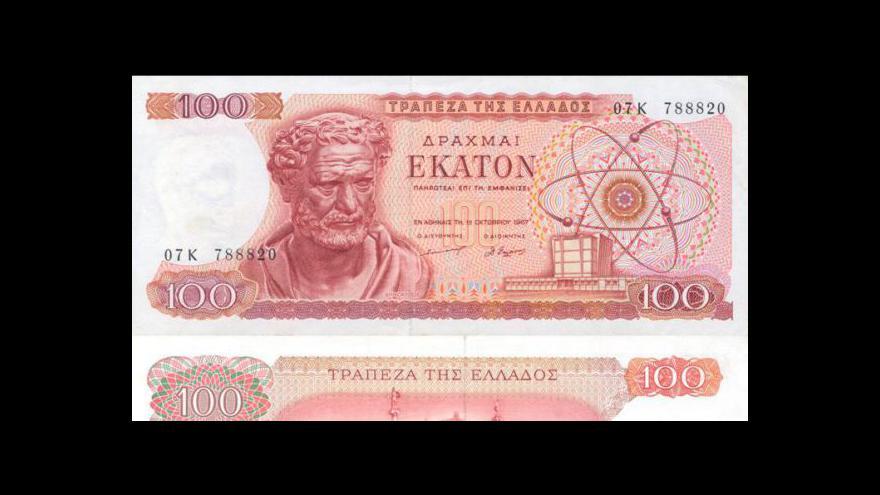 Video Řecké drachmě odzvonilo