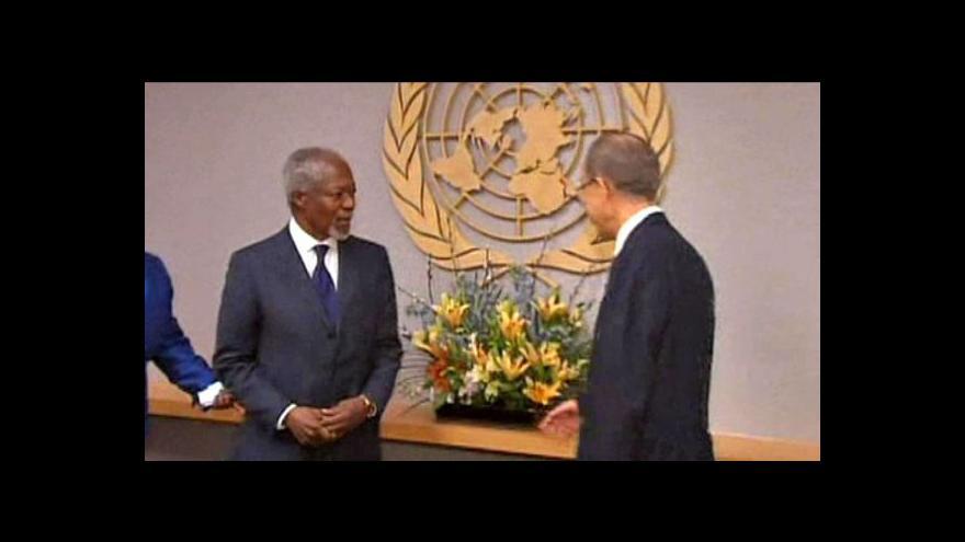 Video RB OSN odsoudila kritickou humanitární situaci v Sýrii