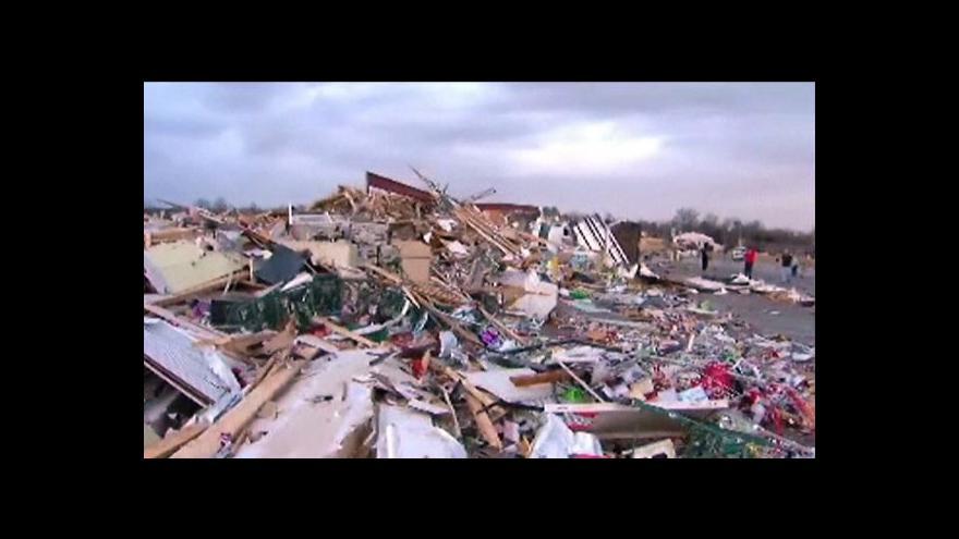 Video Tornáda pustošila USA