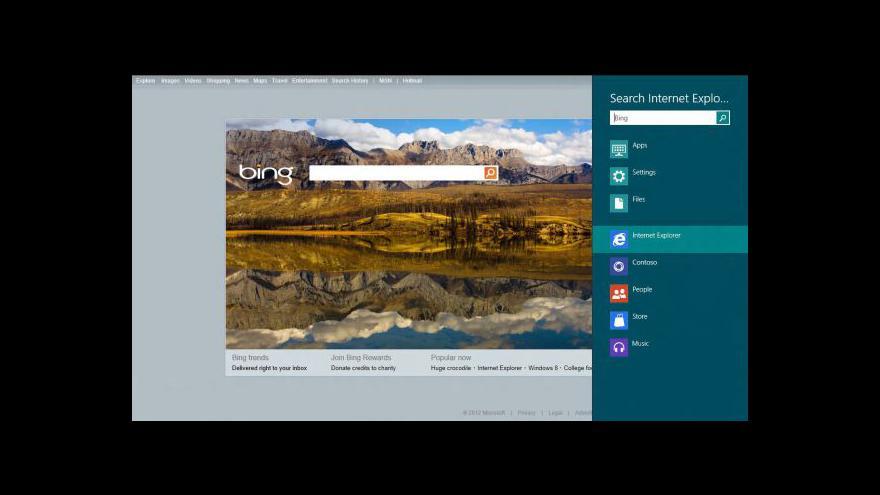 Video Zkušební verze Windows 8 je venku