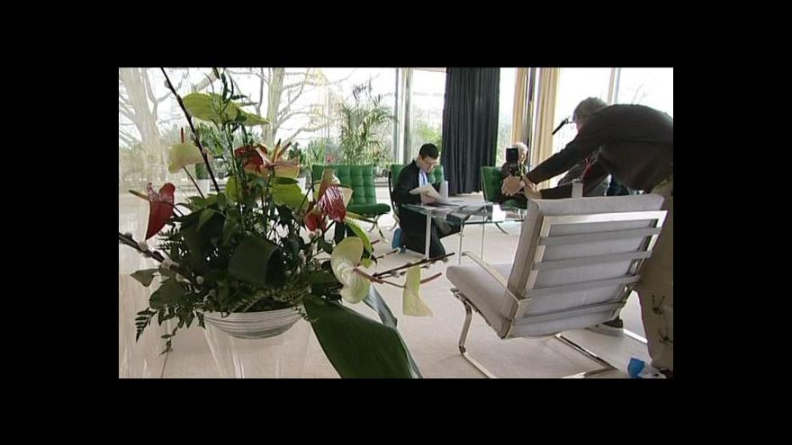 Video Luboš Dostál informuje ze slavnostního otevření vily