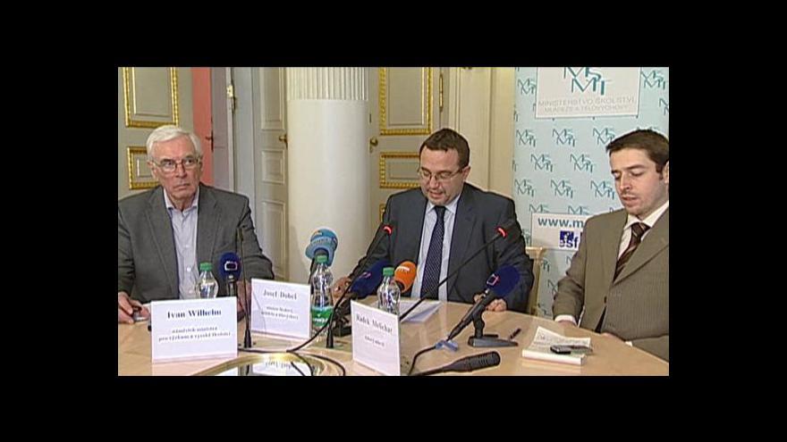 Video Brífink Josefa Dobeše k dalšímu návrhu školní reformy