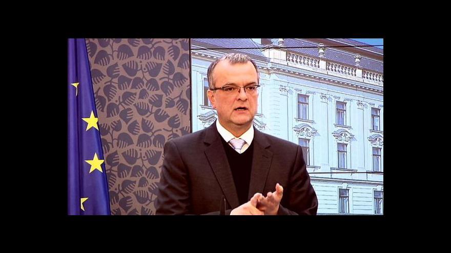 Video Brífink po jednání ekonomických ministrů