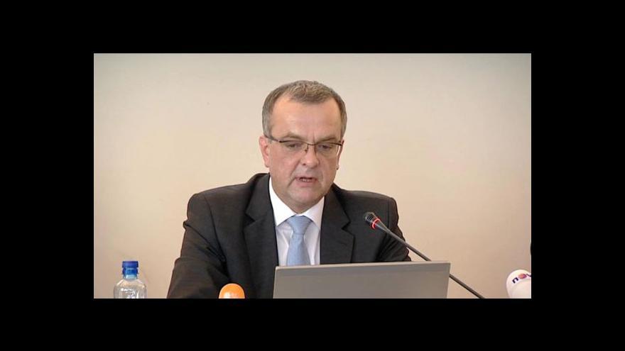 Video Ekonomičtí ministři představili plán úspor