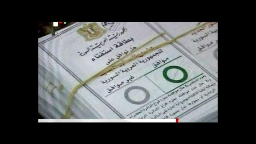 Video Unie zpřísňuje sankce proti Sýrii