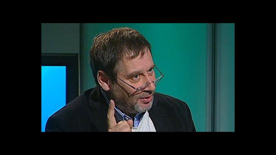 Video Tomáš Töpfer v pořadu Hyde Park