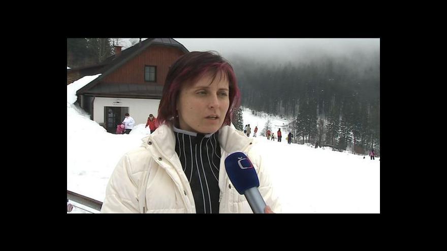 Video Hovoří mluvčí resortu Valachy Martina Žáčková