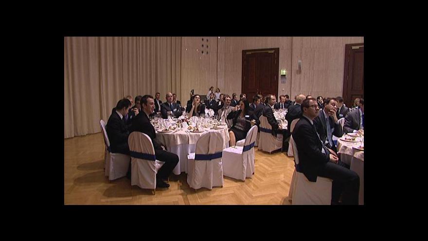 Video Kiekens promluvil na Forecasting Dinner 2012