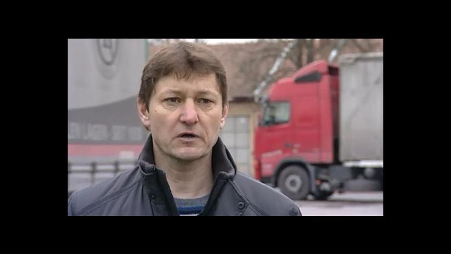 Video O zkušenostech s krádežemi hovoří autodopravce Radomír Maléř