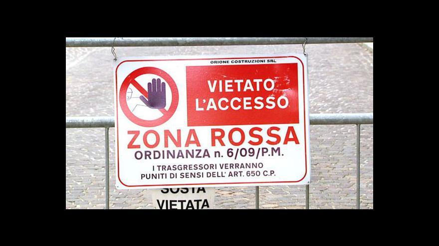 Video Italská Aquila soudí 7 lidí kvůli zemětřesení