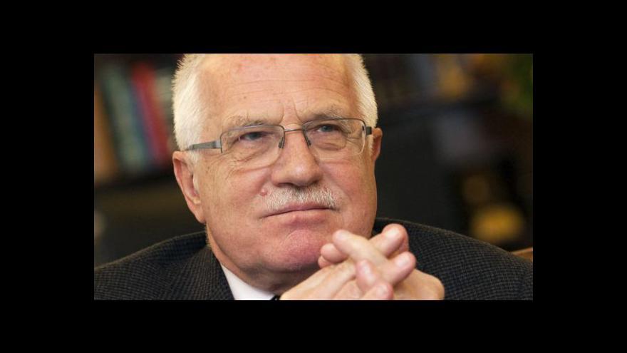 Video Pozoruhodná milost Václava Klause