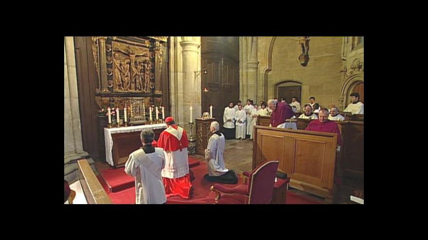 Video Kardinál Duka v katedrále sv. Víta