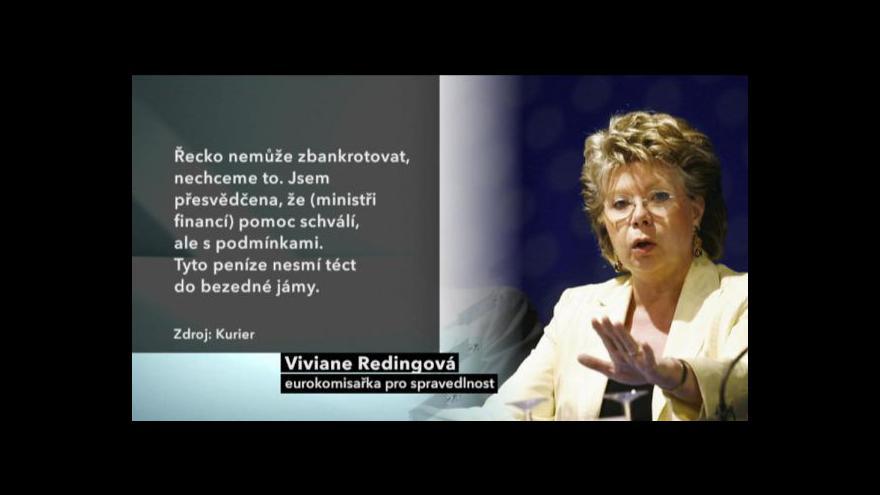 Video Ministři financí projednají pomoc Řecku
