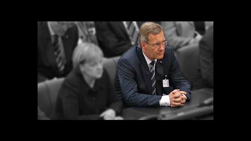 Video Wulff dnes zřejmě oznámí rezignaci