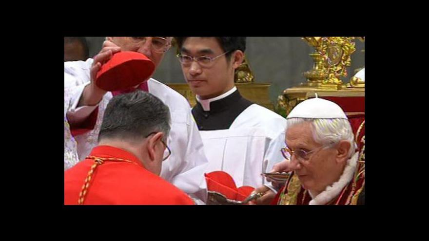 Video Události: Papež jmenoval Duku kardinálem