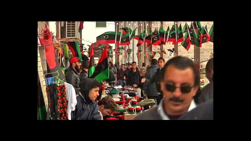 Video Libye si připomíná první výročí revoluce