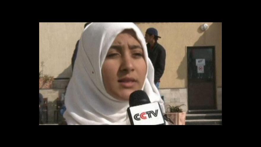 Video V Libyi řádí milice